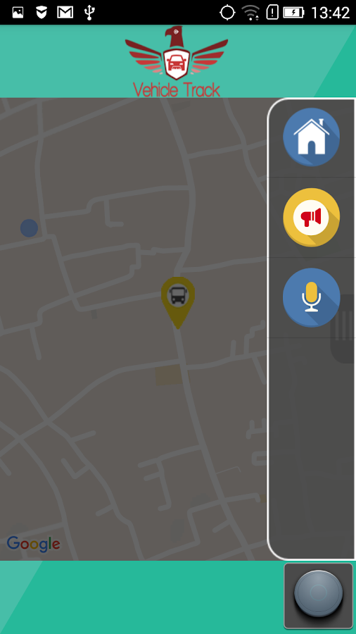 Vehicle Tracking Driver App- screenshot