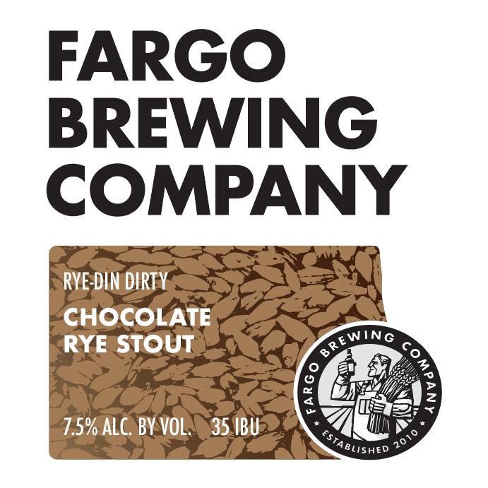 Logo of Fargo Rye-din Dirty Chocolate Rye Stout