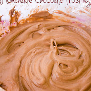 Homemade Chocolate Frosting.
