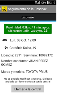 TAXI BILBAO screenshot 3
