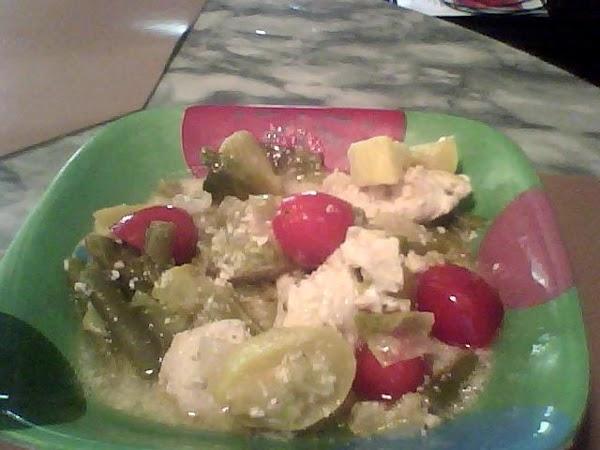 Skillet Chicken Dinner Recipe