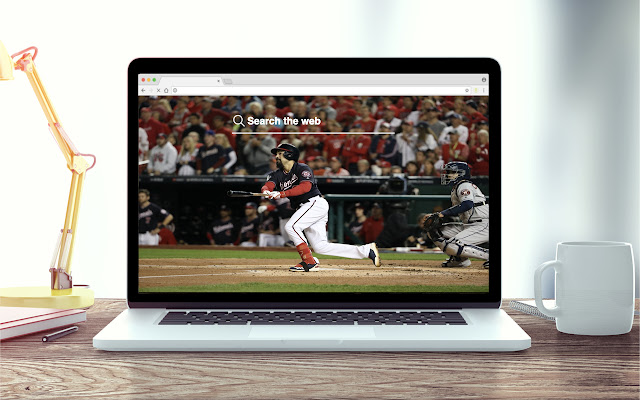 Anthony Rendon New Tab MLB Theme