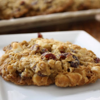 Cranberry-Oatmeal Cookies with White Chocolate Chips