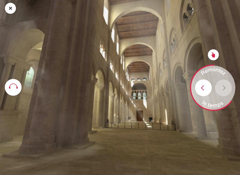 Скриншот Jumièges 3D