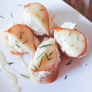 Pear Goat Cheese Appetizer Recipes