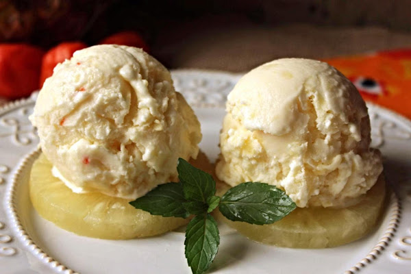 Pineapple Habanero Ice Cream Recipe