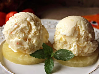 Pineapple Habanero Ice Cream Recipe
