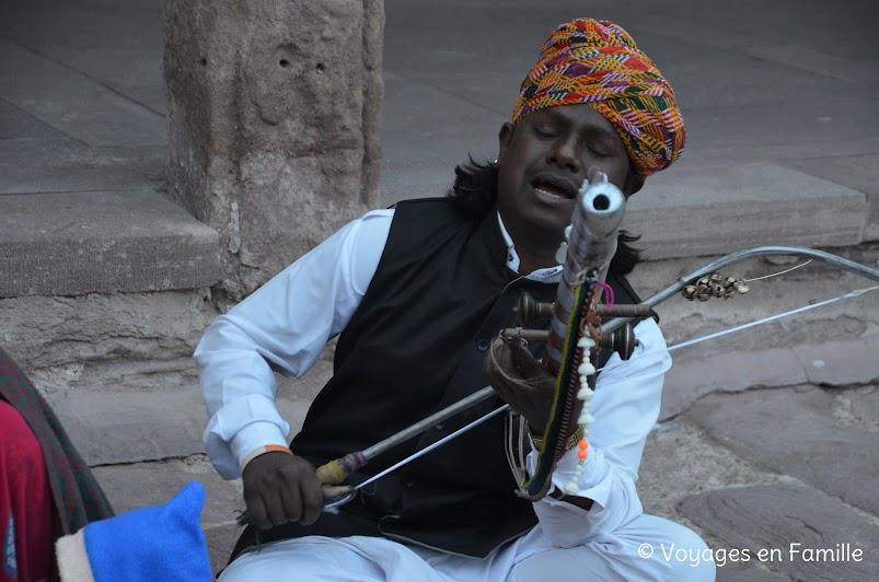 Musicians in Mehrangarh