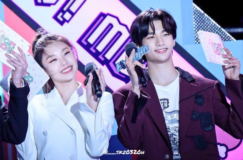 itzy yeji stray kids hyunjin
