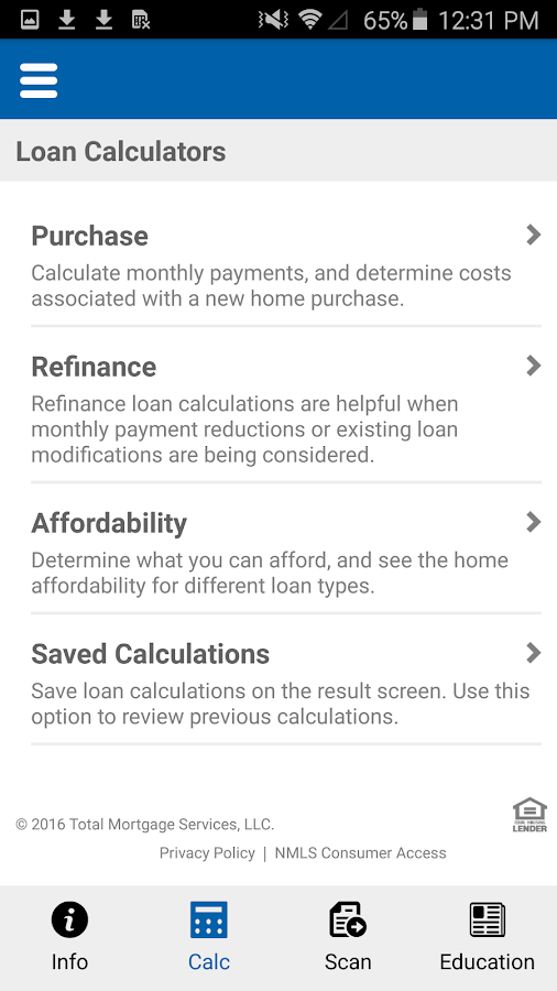 Click Loans Android