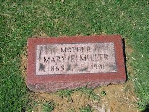 Photo: Miller, Mary E.