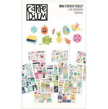 Simple Stories Planner Essentials Mini Stickers - Seasons
