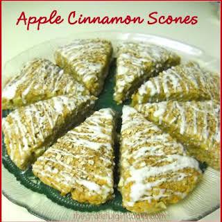Apple Cinnamon Scones.