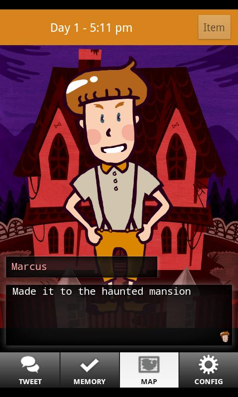 Скриншот Marcus and the Haunted Mansion