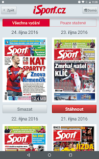 iSport.cz- screenshot thumbnail