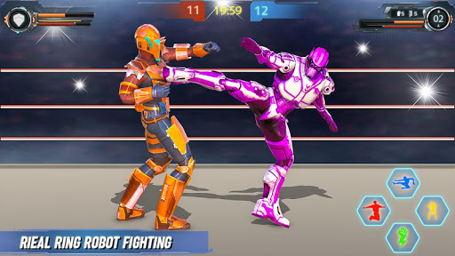 Real Robot fighting games u2013 Robot Ring battle 2019 apktram screenshots 9