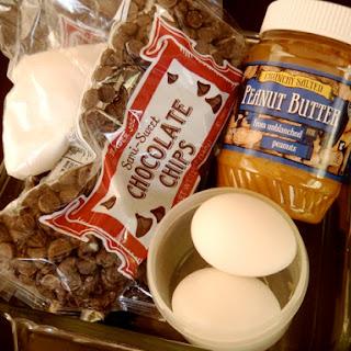 Chocolate Chip Peanut Butter Fudge