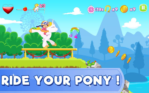 Pony Ride With Obstacles 5 screenshots 3