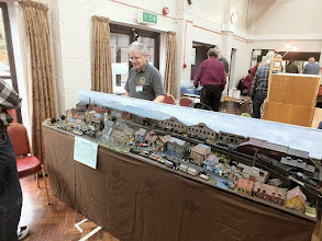 Photo: 008 Howard Coulson brought his Belgian mining town scene Beaulieu Les Mines along. He already has a full appointments diary for the layout which is rapidly becoming almost as well known as Howard's previous layout, Eitomo .