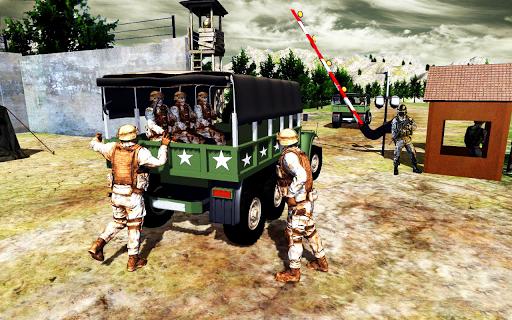 Army Transport Truck Driver : Military Games 2019 apkmind screenshots 6