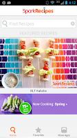Screenshot of Healthy Recipes - SparkRecipes
