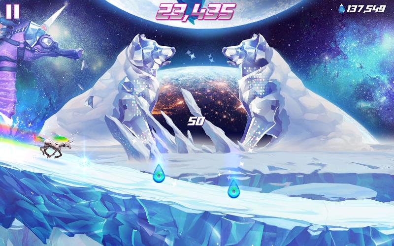 Robot Unicorn Attack 2 Screenshot 9