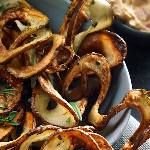 Herbed Oven Spiral Fries