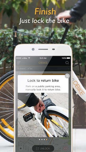 oBike—BikeSharing in Singapore for PC
