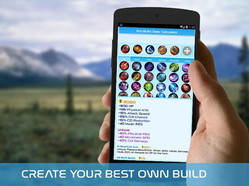 Pro Build: Mobile Legends - Guide 2.1 screenshots 1