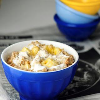 Peanut Butter Breakfast Pudding.