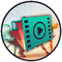 Video slow and fast motion icon