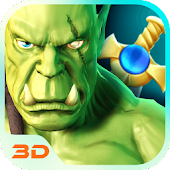 Warrior Orcs Hero 3D Theme
