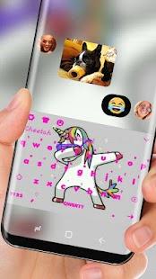 swag unicorn Klávesnice - náhled