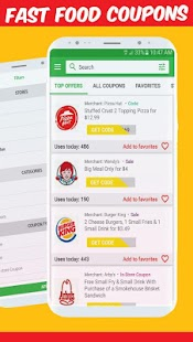 King Fast Food Coupons – Burger king Taco Screenshot