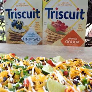 Triscurritos - Your Favourite Burrito Toppings served on a TRISCUIT!.