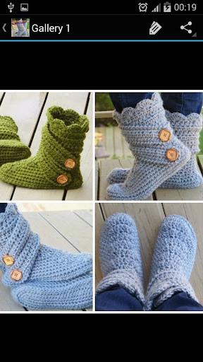Crochet Pattern Women Boots