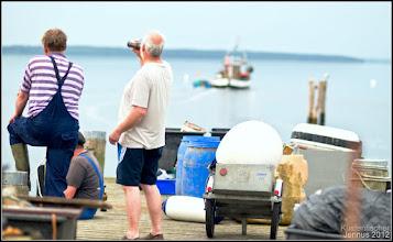 Photo: Fishing on the coast