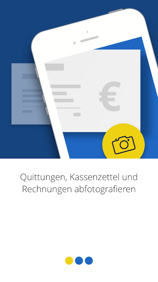 BelegManager-App- screenshot