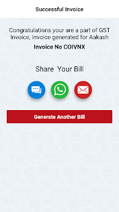 GST Invoice App- screenshot thumbnail