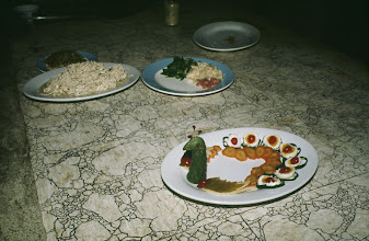 Photo: 11069 鎮江/金山飯店/台所/下ごしらえ