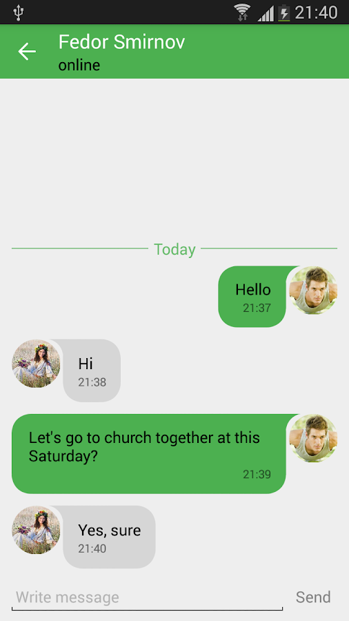 Christian dating- screenshot