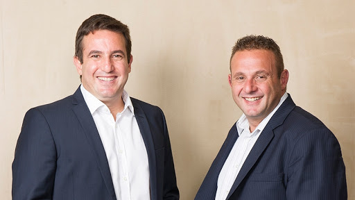 Mark and Brett Levy, joint-CEOs of Blue Label Telecoms.