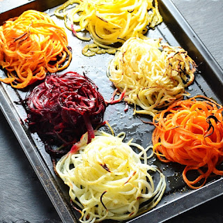 Root Vegetable Nests Recipe