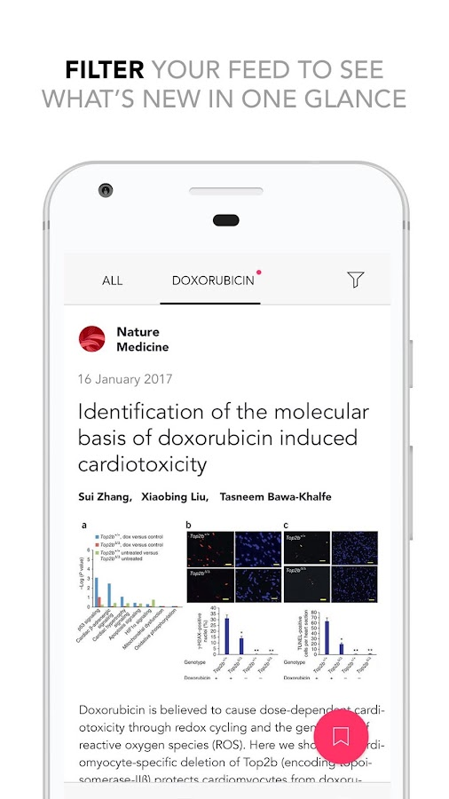 Researcher: Academic Journals Reader App- screenshot