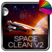 Space Clean V2 Theme for Xperia