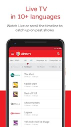 Airtel TV: Movies, TV series, Live TV APK screenshot thumbnail 2