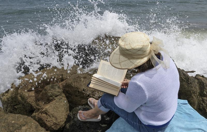 Io un libro e la musica delle onde. di frapio59