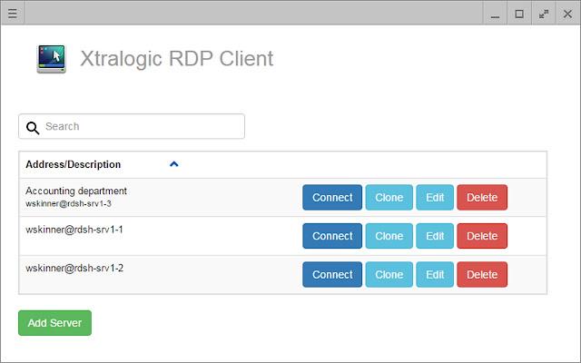 Xtralogic RDP Client