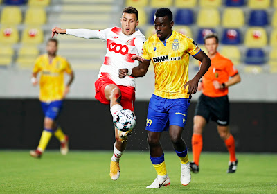 """Jonathan Buatu (STVV) viert tegen zijn ex-club : """"Dat tweede doelpunt was uppercut voor Standard"""""""