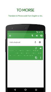 M³ Translator: Morse code v3.76 (Donate)